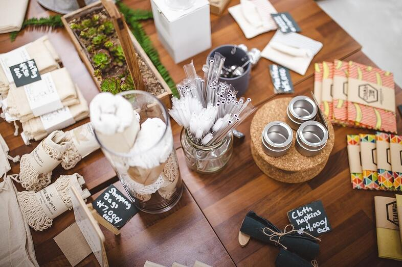 Non-toxic, no single-use plastics, biodegradable market
