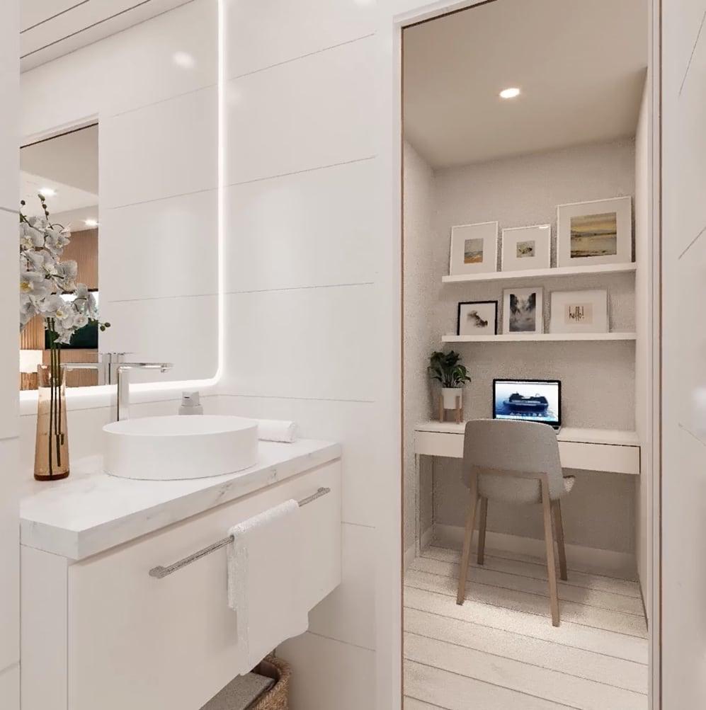 RU1 (All) Bathroom and study